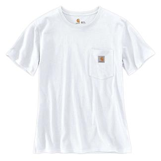 Carhartt WK87 Workwear Pocket T-Shirt White
