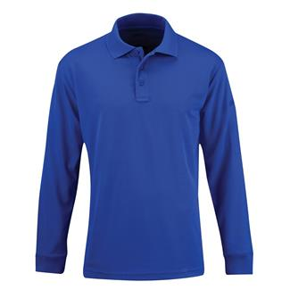 Propper Long Sleeve Uniform Polo Cobalt