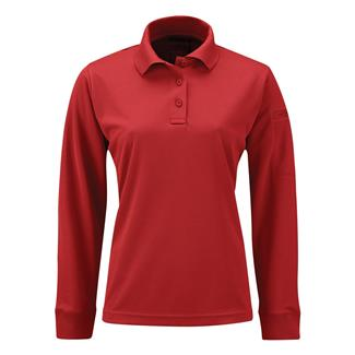 Propper Long Sleeve Uniform Polo Red