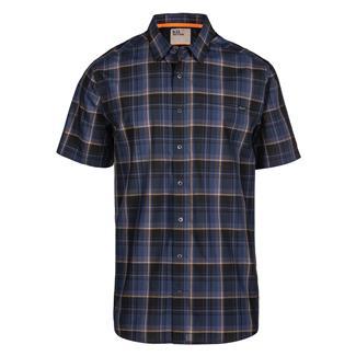 5.11 Hunter Plaid Shirt Pacific Navy Plaid