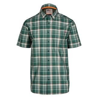5.11 Hunter Plaid Shirt Dusty Sage Plaid