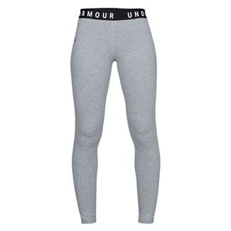 Under Armour Favorite Leggings Steel Light Heather / White / Tonal