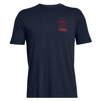 Under Armour Freedom Rattle T-Shirt Academy / Red