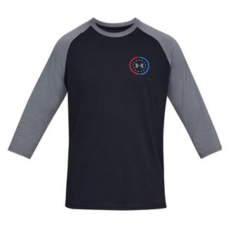 Under Armour Freedom United Utility Cotton T-Shirt Black / Pitch Gray