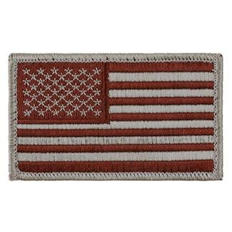 TG American Flag Patch Sheriff's Brown