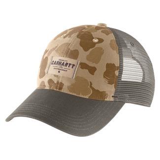 Carhartt Glennville Hat Dark Khaki Duck Camo