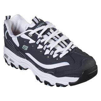 Skechers Work D'Lites Health Care Navy / White
