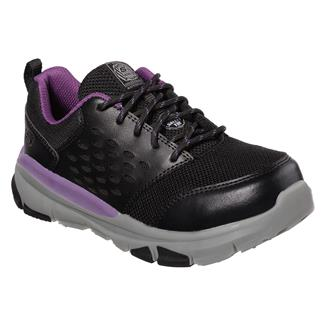Skechers Work Soven SR Corrick Black / Purple