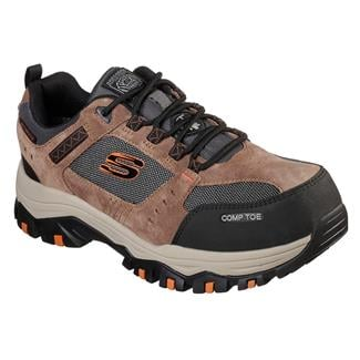 Skechers Work Greetah CT WP Brown / Black