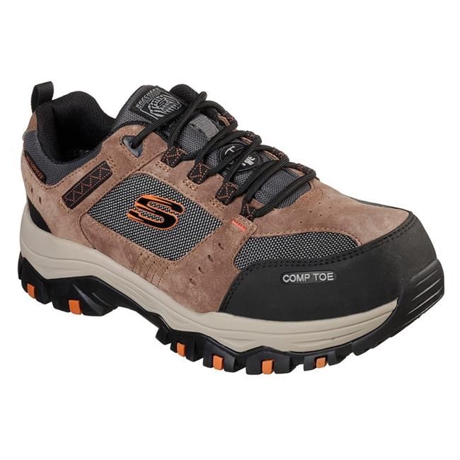 52ad6bbfe808e Men's Skechers Work Greetah Composite Toe Waterproof @ WorkBoots.com