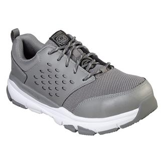 Skechers Work Soven SR Gray / White