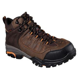 Skechers Work Delleker Lakehead ST WP Brown / Orange