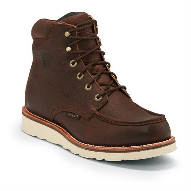 Men S Chippewa Boots 6 Quot Haystack Moc Toe Waterproof