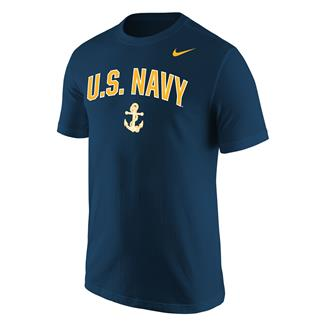 NIKE Navy Athletic T-Shirt