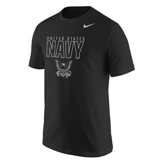 NIKE Navy Camouflage T-Shirt