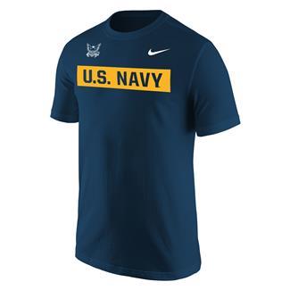 NIKE Navy Branch Tape T-Shirt