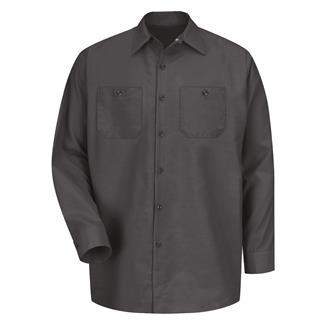 Red Kap Long Sleeve Industrial Solid Work Shirt