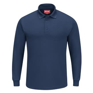 Red Kap Performance Knit Long Sleeve Core Polo