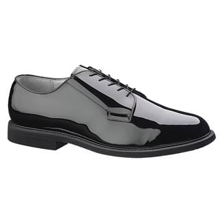 Bates High Gloss Leather Sole Oxford Black