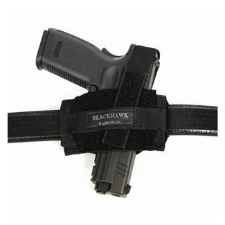 Blackhawk Ambidextrous Flat Belt Holster Black