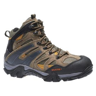 "Wolverine 5"" Wilderness Hiker WP Gunmetal / Tan"