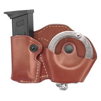 Gould & Goodrich Cuff and Mag Combo Case Chestnut Brown