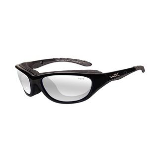 Wiley X AirRage Gloss Black (frame) - Clear (lens)