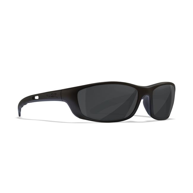 Polarized Emerald Mirror Gloss Black Wiley X P-17 Sunglasses