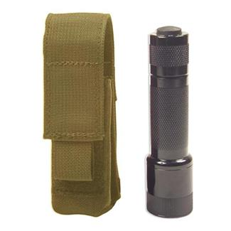 Elite Survival Systems MOLLE Flashlight Pouch Coyote Tan