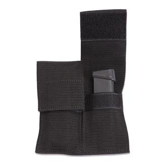 Elite Survival Systems Web Double Mag Pouches with Flap Black