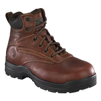 "Rockport Works 6"" More Energy Work CT WP Deer Tan"