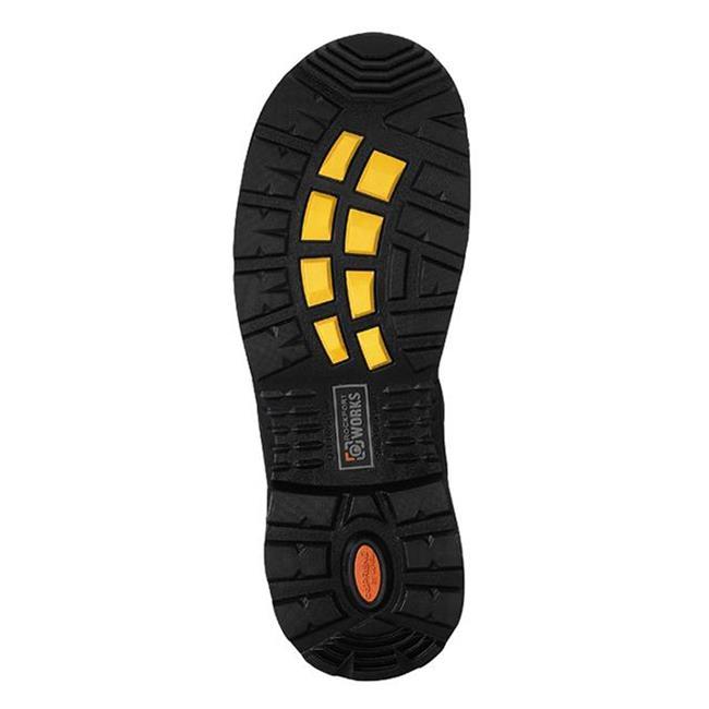 """Composite Toe RK6628 Rockport Brown 6/""""  Men/'s Work Boot"""