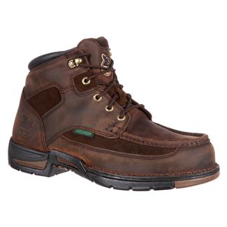"Georgia 6"" Athens Work Moc Toe WP Brown"
