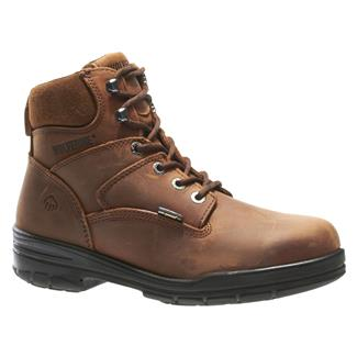 "Wolverine 6"" Leather Durashocks Work ST Dark Brown"
