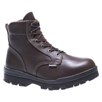 "Wolverine 6"" Durashocks 400G ST WP Brown"