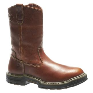 "Wolverine 10"" Raider Wellington Brown"