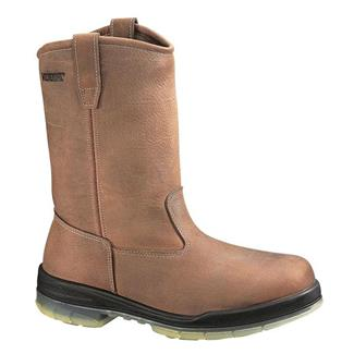 "Wolverine 10"" Durashocks Wellington 200G WP Brown"