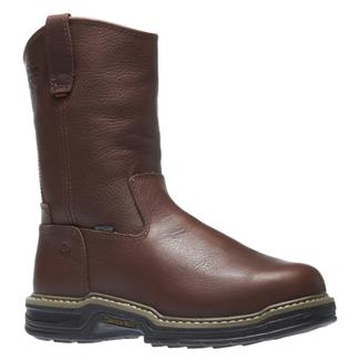 "Wolverine 10"" Darco Wellington ST WP Brown"
