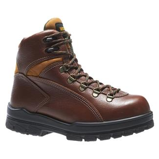 "Wolverine 6"" Durashocks Hiker ST WP Brown"