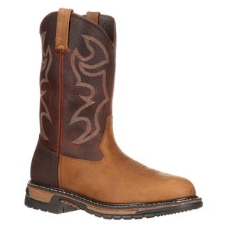 "Rocky 11"" Original Ride Round Toe Aztec Crazy Horse / Bridle Brown"