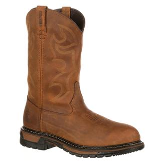 Rocky Mens Work Boots Trail Crazy Horse Leather