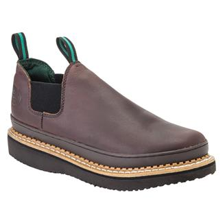 Georgia Giant Romeo Poly Wedge Soggy Brown