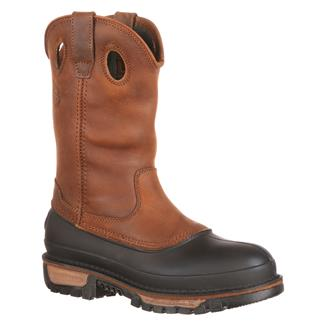 "Georgia 11"" Mud Dog Comfort Core Pull-On Georgia Brown"