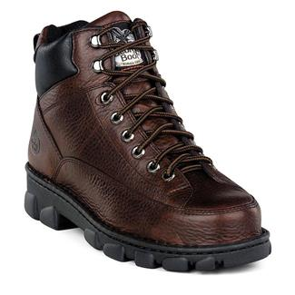 "Georgia 6"" Eagle Light Wide Load ST Soggy Dark Brown"