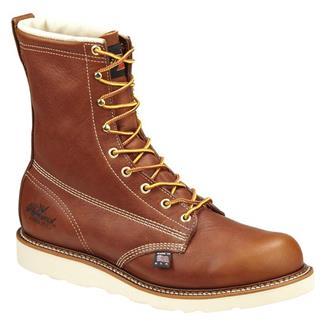 "Thorogood 8"" American Heritage Wedge ST Leather Tobacco"