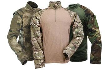 Camouflage Combat Shirts ... 7331c04a08d