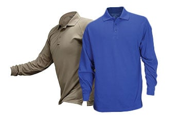 S 1 Blue Wing Blau Tactical Threads Professionelles Poloshirt