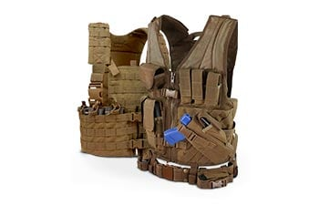 Camouflage Vests and Platforms