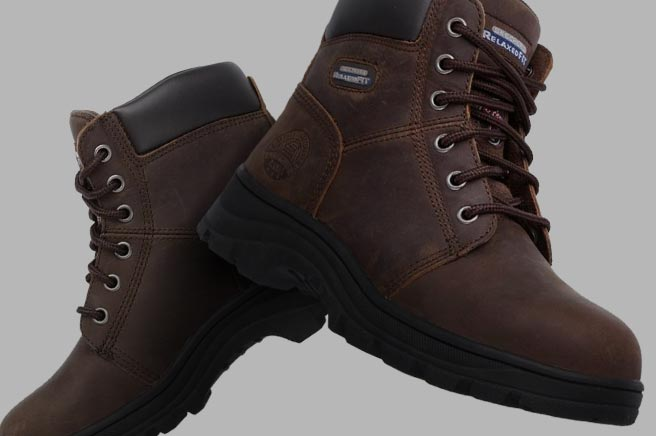 Skechers Work Workshire - Peril Steel Toe Boots