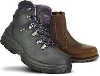 Women's Steel Toe